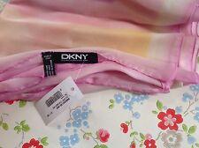 ⭐ ⭐ Dkny impresión bufanda ⭐ Satén Gráfico borrosa