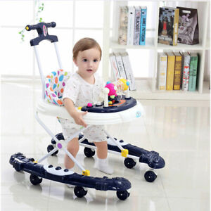 Baby Walker Anti Rollover Multifunctional Newborn Child Starter Learning To Walk