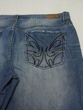 Pepe Jeans United Kingdom Men's Size 42x34 Cotton Blend Medium Wash Blue Jeans