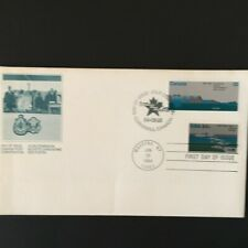 Joint Issue, St. Lawrence Seaway, United States and Canada, 1984 both stamps/ bo