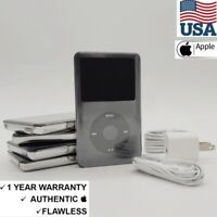 NEW Apple iPod classic 7th Generation Black 160GB 1 Year Warranty