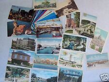 CANADA VINTAGE 50+ POSTCARD LOT CHROME & LINEN NEW BRUNSWICK MONTREAL+ CA 1929up