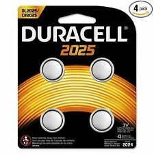 4 x 2025 Duracell Coin Cell Batteries - 4 Count in 1 Pack-Durdl2025-Cr2025