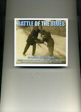 BATTLE OF THE BLUES - JOHN LEE HOOKER CHUCK BERRY HOWLIN' WOLF - 3 CDS - NEW!!