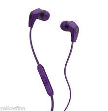 Skullcandy 50/50 In-Ear Earphone Headset DJ Headphones With Mic Athletic Purple