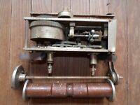 Player Piano Coin Op Edison ? Wind Up Motor Antique