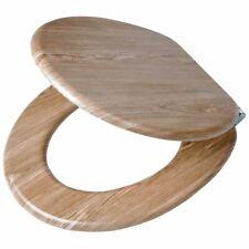 Tiger scaffold Wood asiento de inodoro madera Marrón 45 5x37 5x5 5 cm