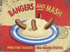 Suono esplosivo e Mash Salsicce Patate Cucina Smash Misura Media Metallo/