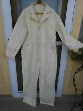 Vintage Universal Overall Co Stone Cutter Coveralls Size 46 in Yellow