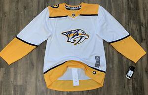 NASHVILLE PREDATORS Adidas Climalite NHL Hockey Jersey Men's Size 60 NWT