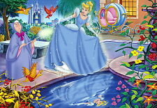 Cenerentola pronti per la palla cross stitch pattern