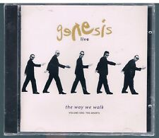 GENESIS THE WAY WE WALK LIVE VOLUME ONE : THE SHORTS ITALY CD F.C. SIGILLATO!!!