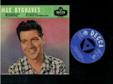 MAX BYGRAVES EP YOU NEED HANDS/THE CRICKET SONG/WE'RE HAVING A BALL
