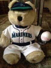 Starbucks Coffee  Bearista Bear MLB Seattle Mariners 2003