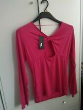 Jane Norman hot pink brand new with tags peephole top. 14-16