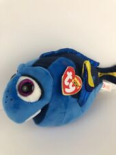 7a90b578886 TY BEANIE BOOS DISNEY FINDING NEMO BLUE DORY BEAN BAG PLUSH NWT