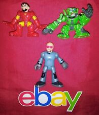 3 pc lot Playskool Marvel Super Hero IRONMAN Transfomers SKIDS Imaginext Figure