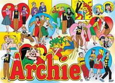 "Archie The Gang at Pops 1000 pieces Jigsaw Puzzle Made in USA 19.25"" x 26.625"""