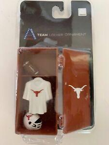 University of Texas Longhorn Team Football Locker Ornament