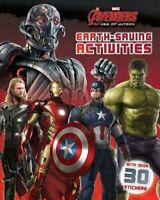 Avengers Sticker book Ironman Hulk Thor Captain America Activities 30+ Sticker