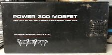 Old School Rockford Fosgate Power 300 COVER ONLY,RARE,USA,RF,vintage