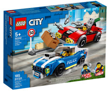 Lego City 60242  Police Highway Arrest ~ NEW ~