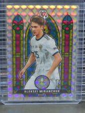 New Listing2021 Mosaic Uefa Euro Aleksei Miranchuk Stained Glass Mosaic Prizm #16 R513