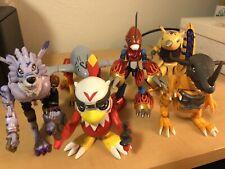 Digimon Digivolving Figures Lot Bandai Vintage