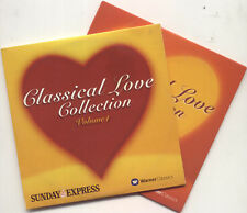 CLASSICAL LOVE COLLECTION: PROMO 2 CD SET (2003) BEETHOVEN CHOPIN TCHAIKOVSKY ++