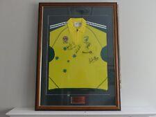 Cricket Jersey Aust v ICC World 11  Signed & Framed
