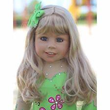 NWT Masterpiece Dolls Ariel RARE Blonde Green Eyes By Monika Levenig