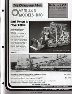 catalogo - Rivista OVERLAND MODELS MAIL Bulletin 130 2000  bb
