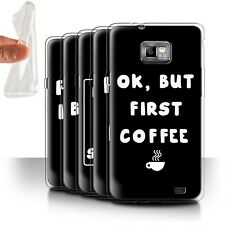 STUFF4 Gel/TPU Case/Cover for Samsung Galaxy S2/SII/Funny Girl/Woman Quote