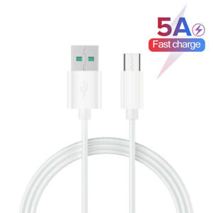 3ft White USB-C Charger Cord Cable Lead for JBL Charge 4 player Portable Speaker