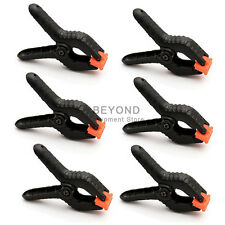 6X Backdrop Clamp Clips for Photo Studio Lighting Stand Paper Muslin Background