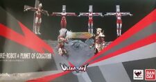 New Bandai ULTRA-ACT Ultraman Ace Ultraman Ace Robot & Planet of Golgotha Set