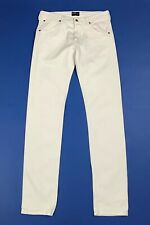 Lee powell jeans uomo usato slim stretch W34 L36 tg 48 denim boyfriend T5999