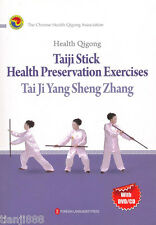 Health Qigong: Taiji Stick Heatlh Perservation Exercises (with DVD/CD) (English)