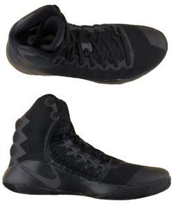 Nike Hyperdunk 2016 Triple Black Anthracite Basketball Shoes 844359 008 Size 7.5