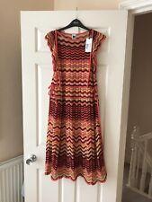 Missoni Ladies Multicolour Wave Dress, Size 44,Bnwot