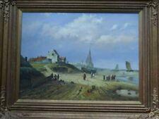 Oil Seaside Framed Art Paintings