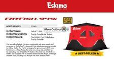 FF949i ESKIMO FATFISH INSULATED PORTABLE 94x94x80 ICE SHELTER SHANTY SALES MODEL