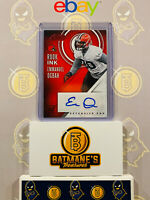2016 Panini Absolute Emmanuel Ogbah #18 Auto RC Rookie NM/M MINT