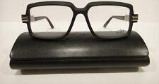 d4fa2cb75b Cazal 6008 Eyeglasses Frames Color 002 Matt Black Authentic New