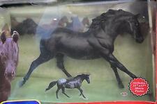 BREYER Black Beauty Movie Model Horse FLICKA w/ Movie Poster NEW But Damaged Box