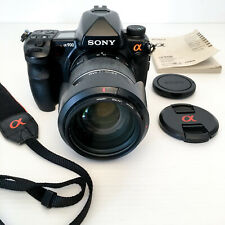 Sony Alpha a900 Full Frame Digital SLR DSLR Camera Body-Battery-Charger 25MP