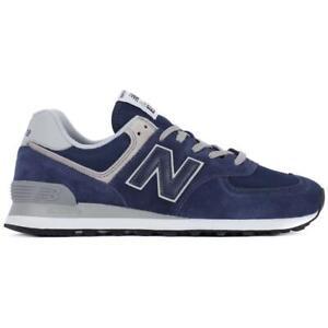 new balance 574 uomo blu