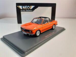 BMW 2002 BAUR NEO SCALE MODELS 1/43