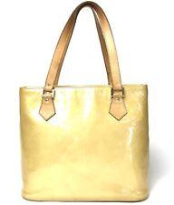 Louis Vuitton Monogram Vernis Houston handbag beige M91004 Used (193-7