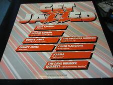 Get Jazzed vintage vinyl record promo copy